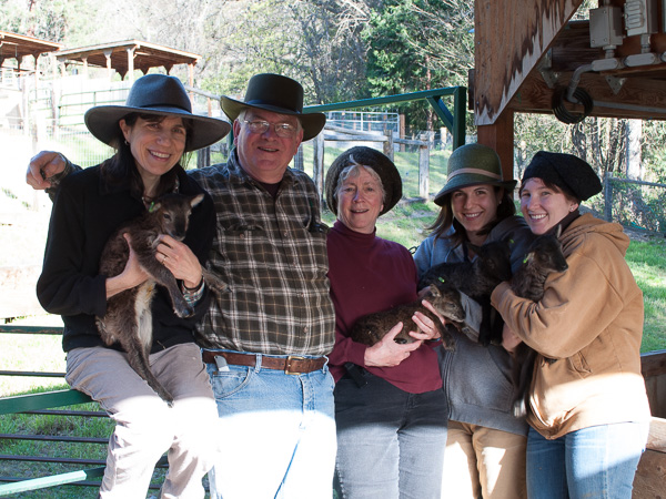 Official Lamb Camp 2015 Photo: Ida, Steve, Priscilla, Whitney, and Audrey