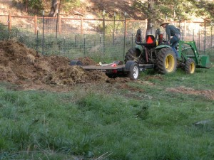 Yuk, the manure pile